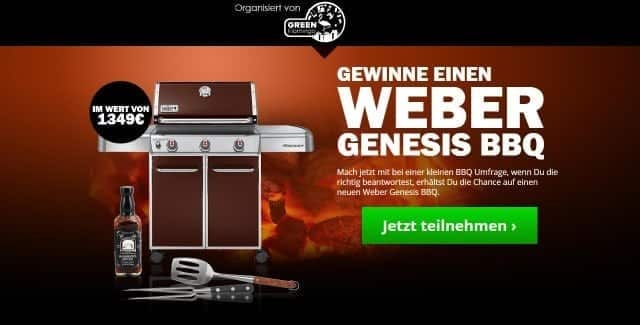 weber genesis bbq grill gewinnspiel gewinnspiel. Black Bedroom Furniture Sets. Home Design Ideas