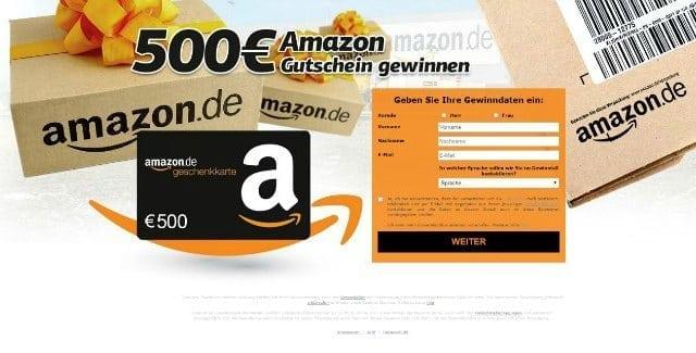 Gewinnspiel Amazon