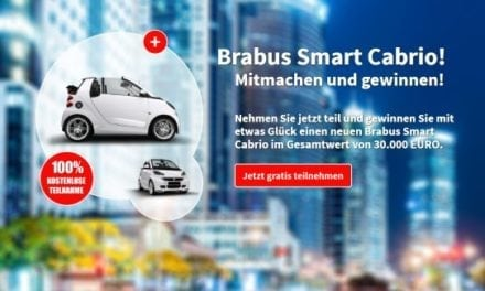 Brabus Smart Cabrio Gewinnspiel
