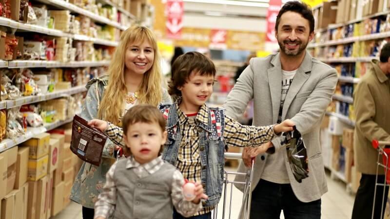 supermarkt einkauf gutschein gewinnspiel