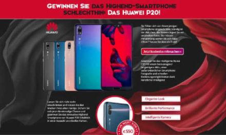 Huawei P20 Handy Gewinnspiel
